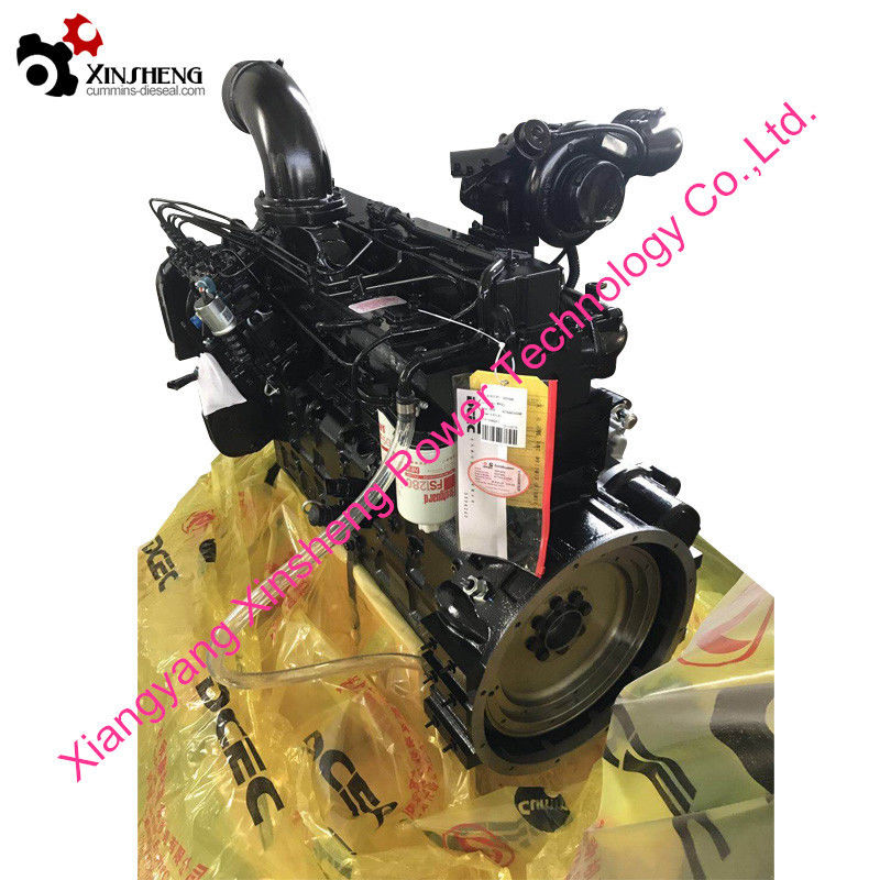Cummins Turbo Diesel Engine 6CTAA8.3-C195 For Industrial Engineering Machinery,Water Pump